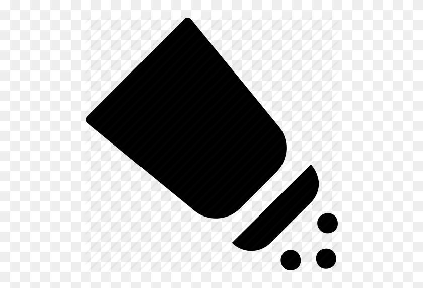 Pepper, Pepper Shaker, Pouring Salt, Salt, Salt Shaker, Spice Icon - Salt Shaker PNG
