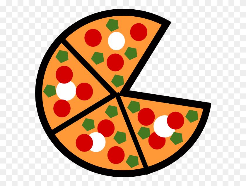 Pepperoni Pizza Clip Art - Pepperoni Pizza Clipart
