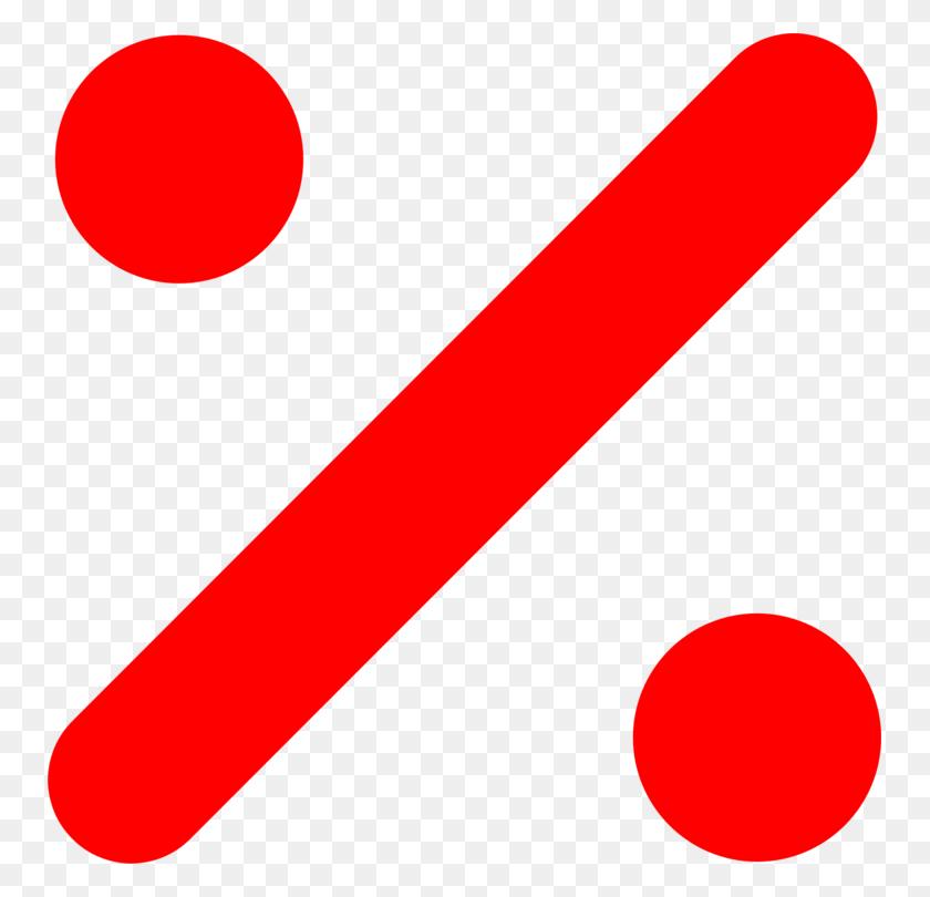 Percent Sign Percentage Logo Obelus - Percentage Clipart