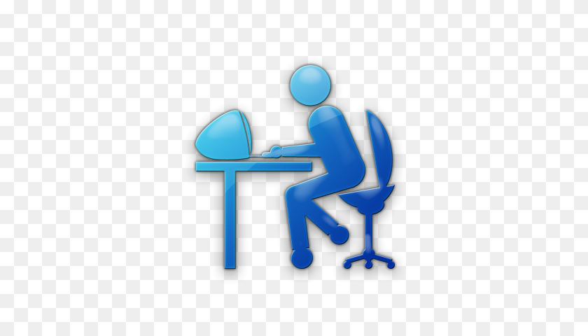 Person Blue Icons - Person PNG Icon