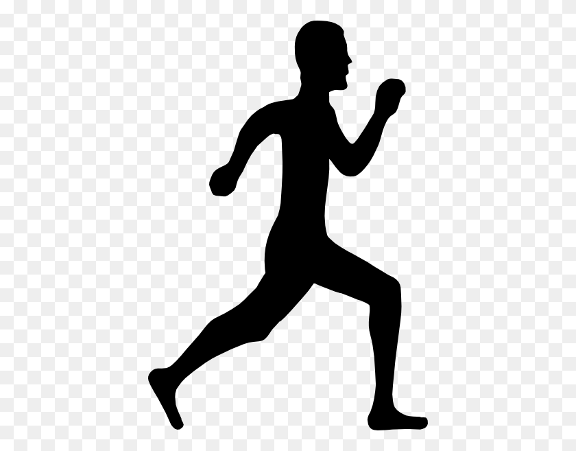 Person Running Clipart Coloring And Templates - Running Away Clipart