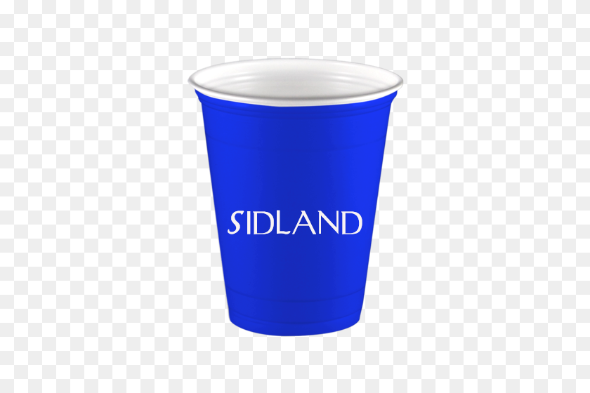 Personalized Blue Solo Cup Custom Cups From Limelight Paper - Solo Cup PNG