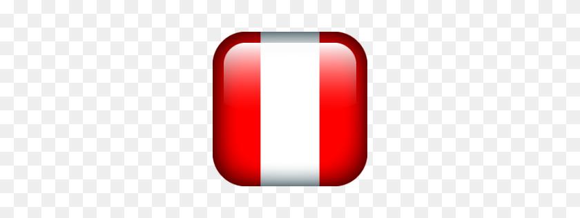 Peru, Flags, Flag Icon Free Of Flag Borderless Icons - Peru Flag PNG