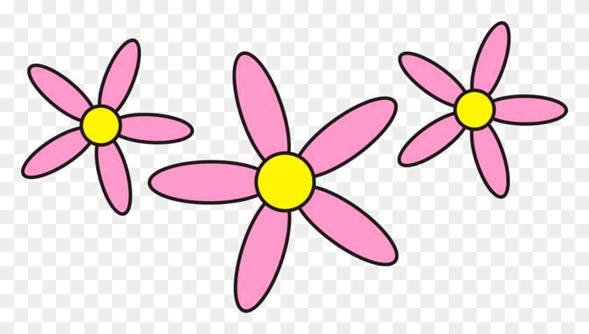 1400x750 Petal Pink Flowers Floral Design Rose - Petal Clipart
