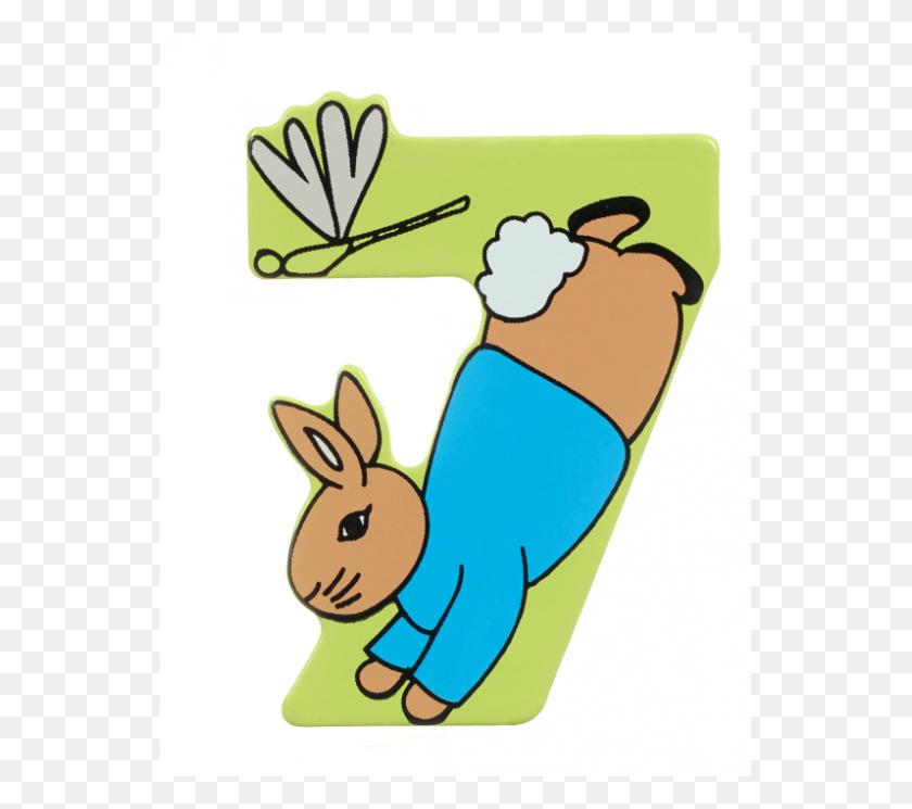 Peter Number Orange Tree Toys - Peter Rabbit PNG