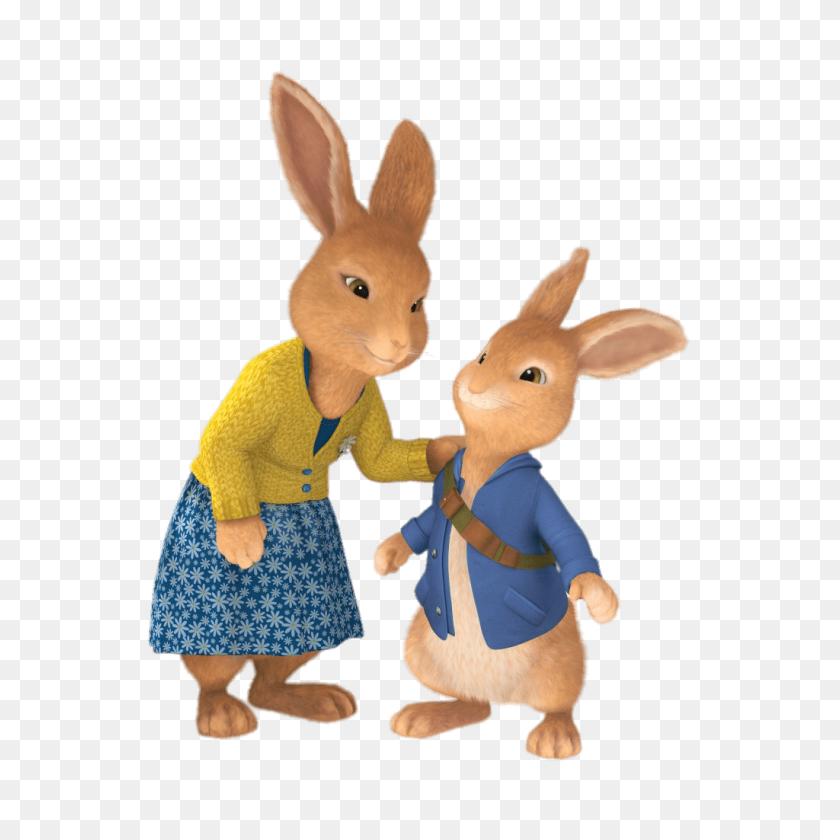 Peter Rabbit And Mum Transparent Png - Peter Rabbit PNG