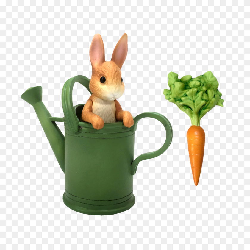 Peter Rabbit And Watering Can - Peter Rabbit PNG