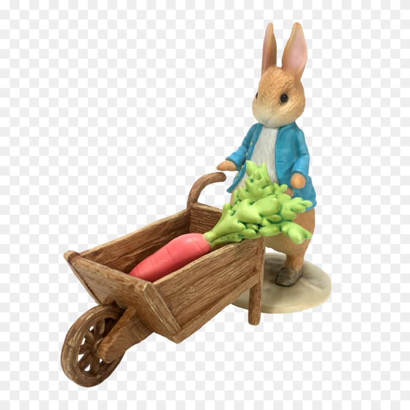 Peter Rabbit And Wheel Barrow - Peter Rabbit PNG