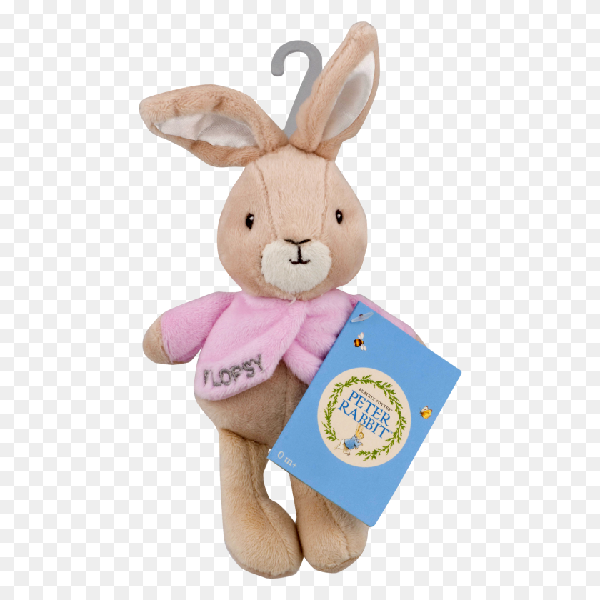 Peter Rabbit Beatrix Potter Flopsy Mini Jingler Ct - Peter Rabbit PNG