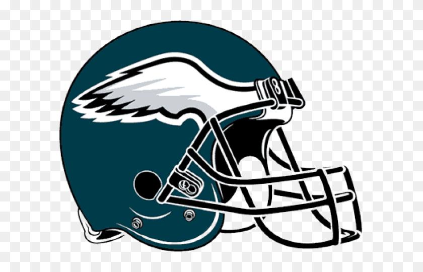 Philadelphia Eagles Clipart Nfl - Nfl Football Helmet Clipart