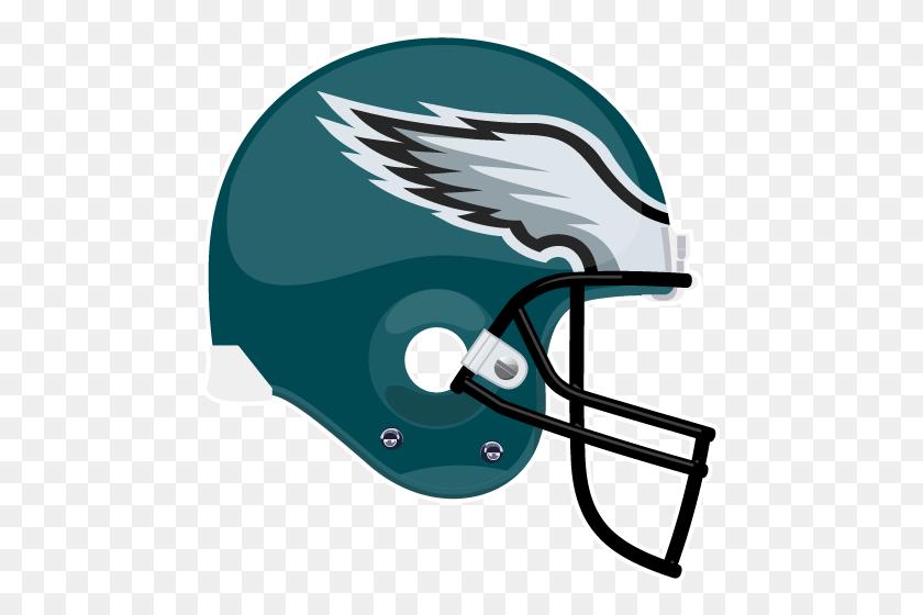 Philadelphia Eagles Helmet Logos - Philadelphia Eagles Helmet PNG
