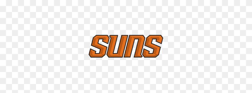 Phoenix Suns Wordmark Logo Sports Logo History - Suns Logo PNG