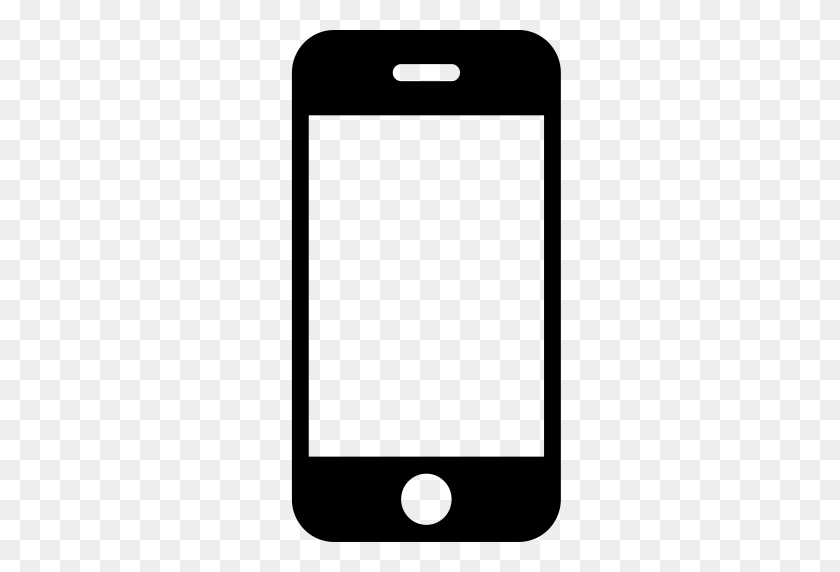 Phone, Cell Phone, Phone Icon With Png And Vector Format For Free - Phone Icon White PNG