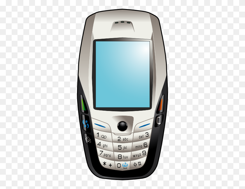 Phone Clipart Nokia Mobile - Cell Phone Clipart PNG