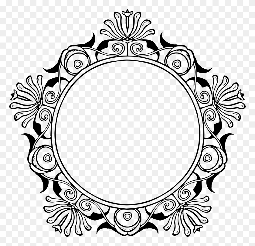 Photo Of Mirror Frame Vector - Mirror Frame PNG