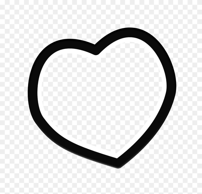 Photoscape Editor Heart Shape Png Frames - Heart Shape PNG
