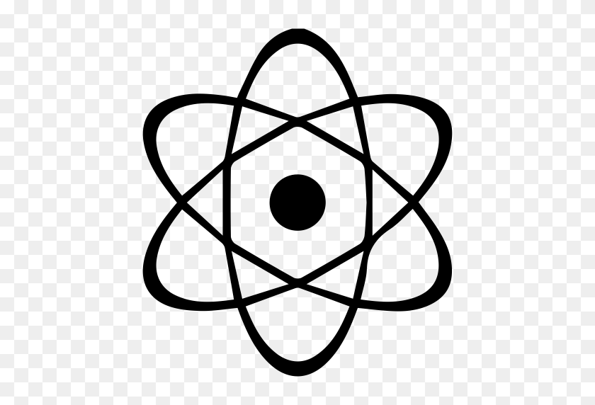 Physical Atom, Atom, Atomic Icon With Png And Vector Format - Atom PNG