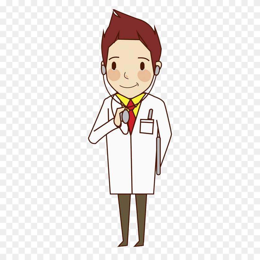 Physician Cartoon Clip Art - Doctor Clipart Free