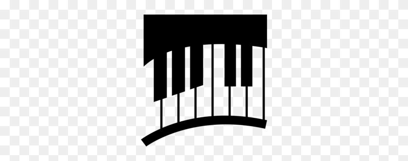 Piano Clipart - Piano Keyboard PNG