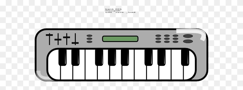 Piano Cliparts - Piano Keyboard PNG