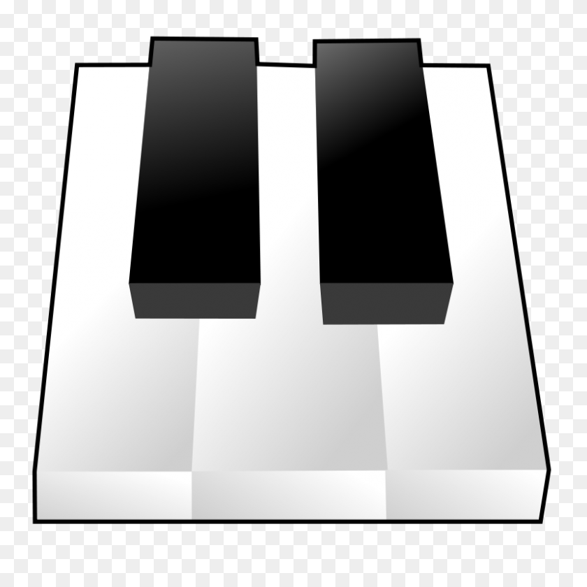 Piano Keys Clip Art - Upright Piano Clipart