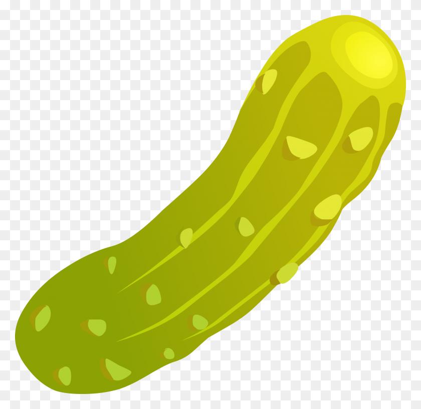 2472x2400 Pickle Clip Art - Melon Clipart