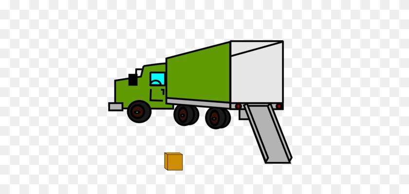 Pickup Truck Model Car Dump Truck - Semi Truck Clipart