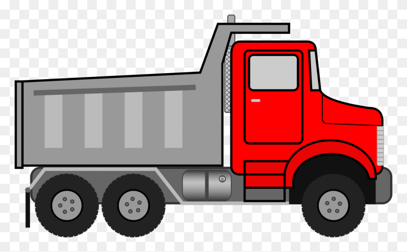 Pickup Truck Van Dump Truck Semi Trailer Truck - Semi Truck Clip Art Free