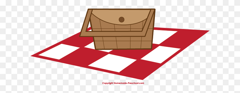 Picnic Basket Clipart Picnic Area - Picnic Blanket Clipart