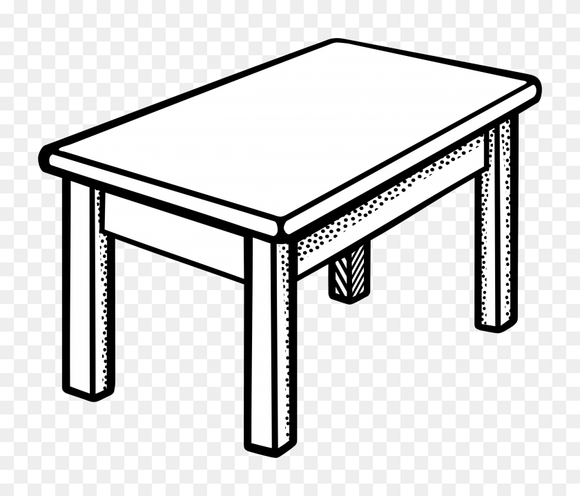 Picnic Table Clipart Wikiclipart With Table Clipart - Picnic Table Clipart