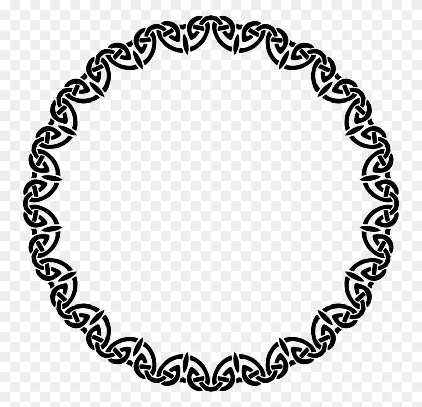 Picture Frames Celtic Knot Decorative Arts Molding Bed Frame Free - Celtic Knotwork Clipart