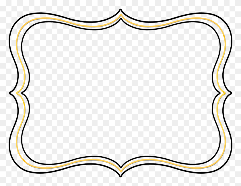 Picture Frames Drawing Clip Art - Fancy Frame PNG