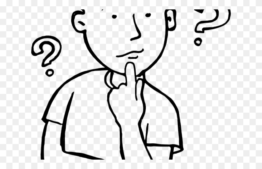 Picture Of Person Thinking Free Download Clip Art - Someone Thinking Clipart
