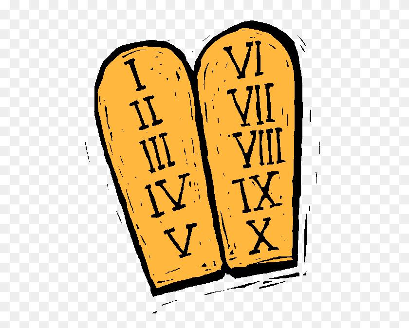 Picture This! Commandments For Writers - Ten Commandments Clipart