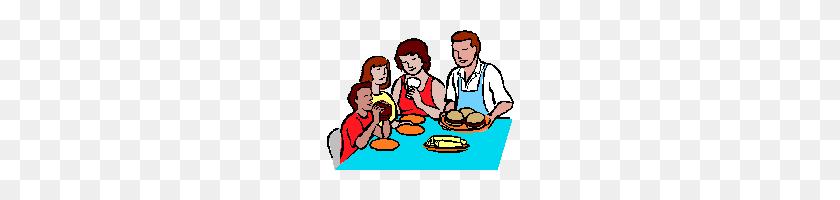 Pictures Of Eat Dinner Clipart - Eat Dinner Clipart