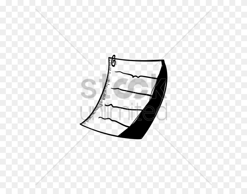 Piece Of Paper Vector Image - Piece Of Paper PNG