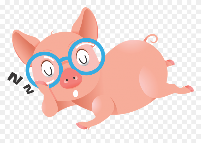 1000x691 Pig Clip Art Black And White Free Clipart Images - Pig Face Clipart Black And White