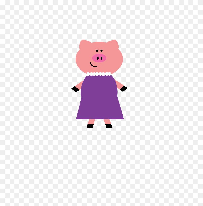 Pig Clipart Art - Pig Clipart