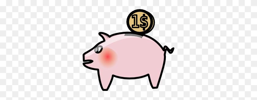 Pig Clipart Savings - Cartoon Pig Clipart