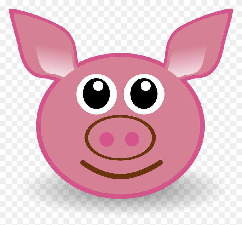Pig Face Cartoon Free Download Clip Art - Pig Image Clipart
