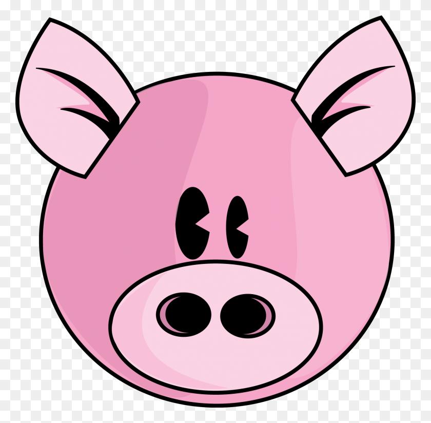 Pig Face Clip Art - Mage Clipart