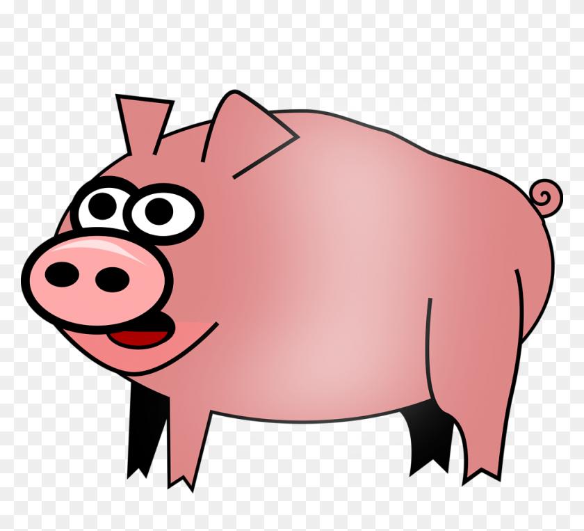 Pig Free Stock Photo Illustration Of Cartoon Pig - Cartoon Pig PNG