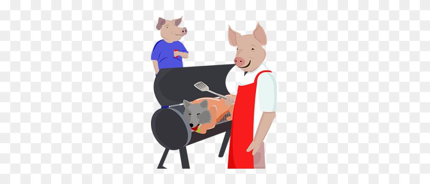 Pig Roast Bbq Pigs' Revenge - Pig Roast Clip Art