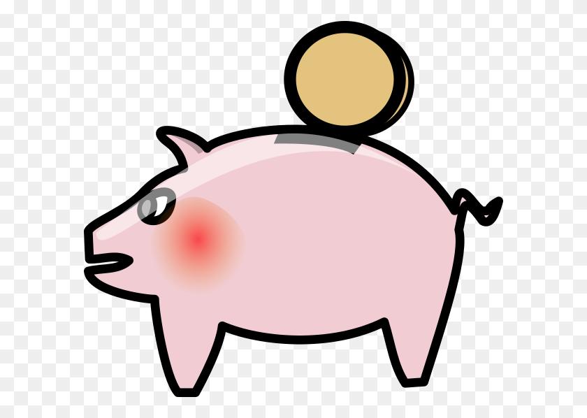 Piggy Bank Derivative Clip Art - Piggy Bank Clipart