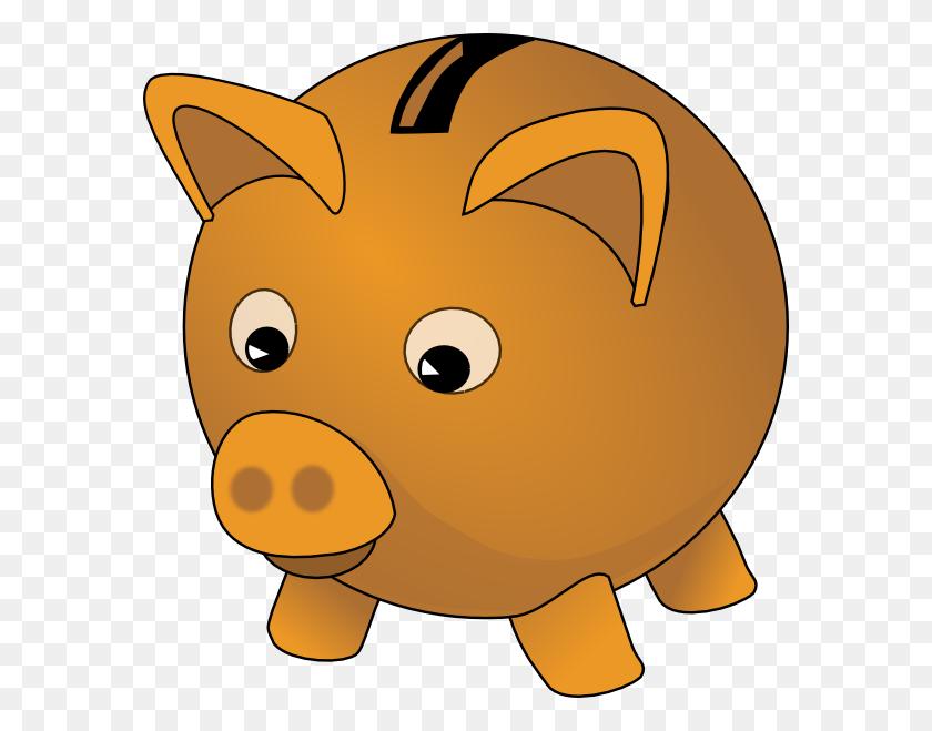 Piggybank Clip Art - Piggy Bank Clipart