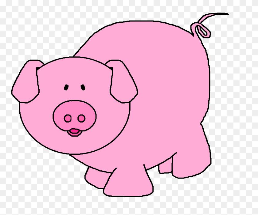 Pigs Cartoon Pig Clipart - Show Pig Clip Art