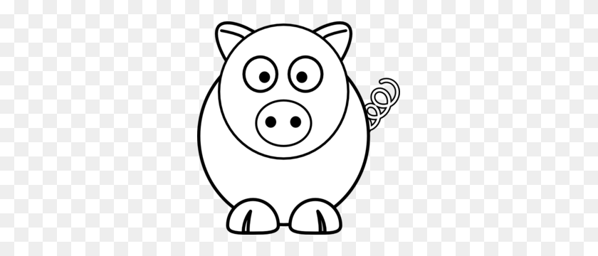 Pigs Clipart Black And White Clip Art Images - Pig Image Clipart