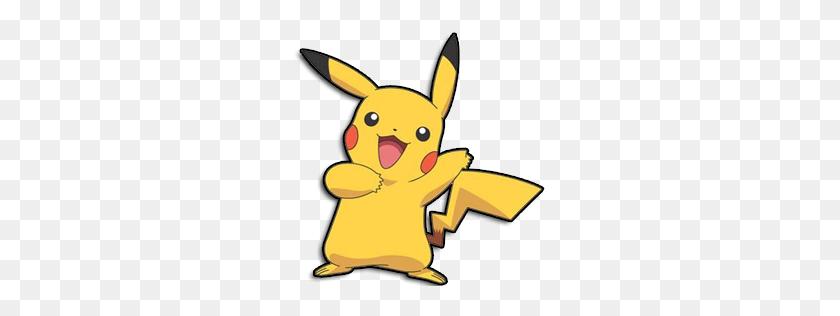 Pikachu Clipart Main Character - Main Character Clipart