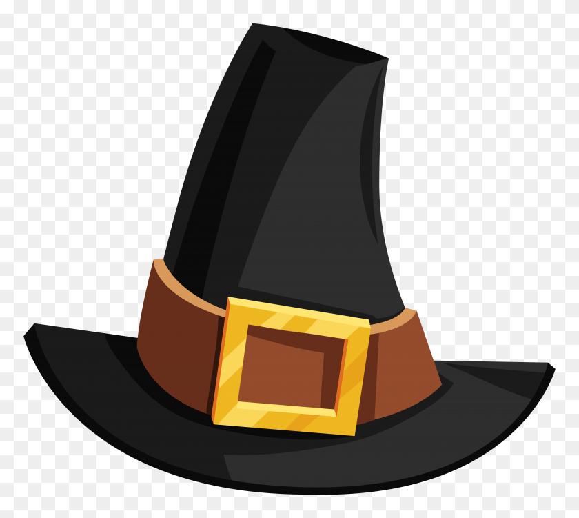 8000x7093 Pilgrim Hat Transparent Png - Pilgrim Clipart