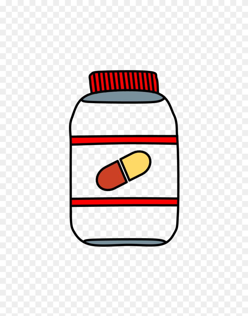 816x1056 Pill Bottles Clipartshare - Rx Bottle Clipart